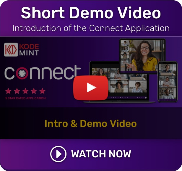 Connect - Live Demo Intro Video - Live Class, Meeting, Webinar, Online Training