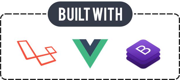Storeo - Built With Laravel, VueJS, Bootstrap